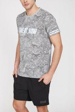 Koton Erkek Desenli T-Shirt(113418752)