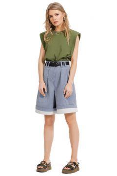 Комплект с шортами PIRS 1268 сине-зеленый(117354931)