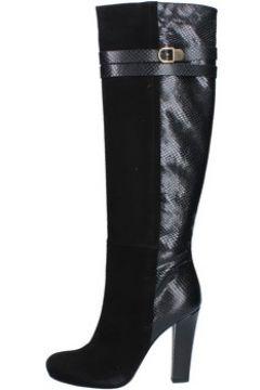 Bottes Del Gatto bottes noir daim cuir AK938(98485677)