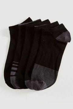 Erkek Desenli Patik Çorap 5\'li(127067657)