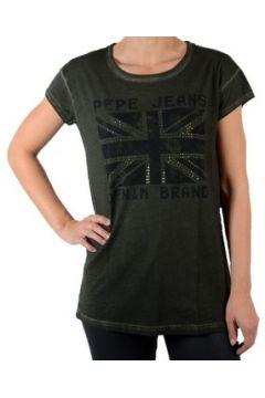 T-shirt Pepe jeans Soul PL501456 Kaki(127906095)