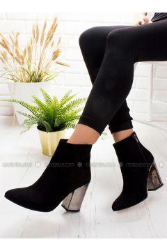 Black - Boot - Boots - Ayakkabı Frekansı(110322692)