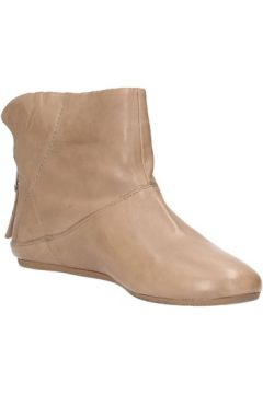Boots Carmens Padova bottines beige cuir AF46(88469342)