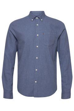 Peter Lt Flannel Shirt Hemd Business Blau LEXINGTON CLOTHING(118182151)