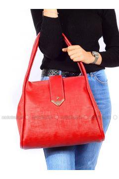 Red - Shoulder Bags - Vip Moda(110339386)