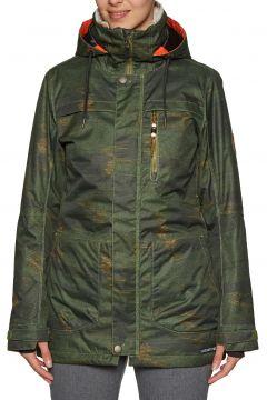 Blouson pour Snowboard Femme 686 Spirit Insulated - Surplus Green Blanket(111320145)