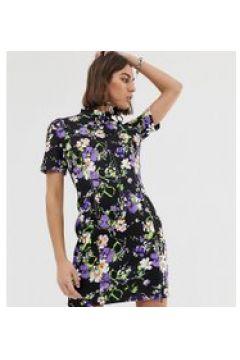 COLLUSION - Vestitino a corsetto in scuba a fiori - Multicolore(93439237)