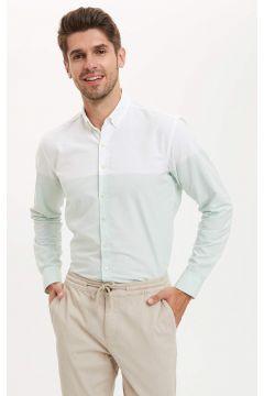 DeFacto Erkek Modern Fit Pamuk Gömlek(119062330)
