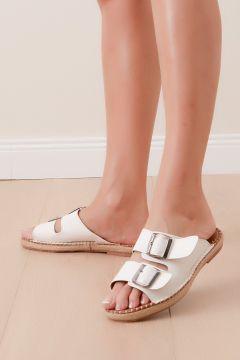 Shoes Time Kadın Beyaz Terlik 20y 817(118648303)