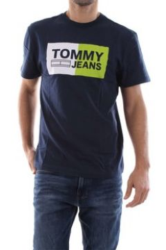 T-shirt Tommy Jeans DM0DM05549 ESSENTIAL SPLIT(115626370)