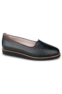 Ceyo Deri Yazlık Kadın Anatomik Ayakkabı(123666461)