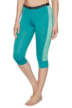 Mons Royale Alagna Cropped Damen Leggings - Tropicana Peppermint(100270050)