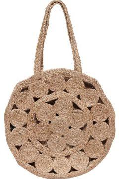 ONLY Blumige Einkaufs Tasche Damen Beige(110433372)