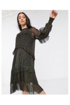 Resume - Katelyn - Vestito in rete a strati-Nero(120300589)