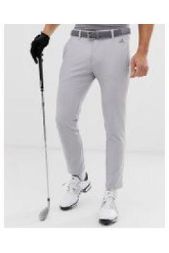Adidas Golf - Ultimate 365 - Schmal zulaufende Hose mit 3 Streifen in Grau - Grau(93138460)