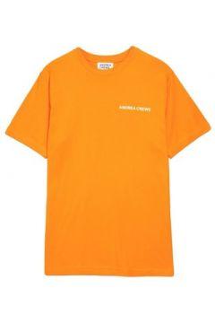 T-shirt Andrea Crews Tee-shirt WORK Orange(115483486)