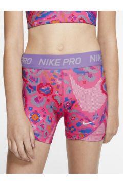 Nike Pro Baskılı Genç Çocuk (Kız) Şortu(116380672)
