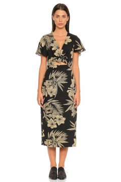Polo Ralph Lauren-Polo Ralph Lauren Çiçek Desenli Elbise(118835509)