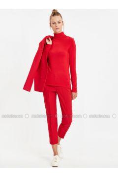 Red - Pants - LC WAIKIKI(110312907)