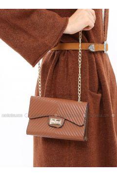 Tan - Shoulder Bags - ironstone(110327827)