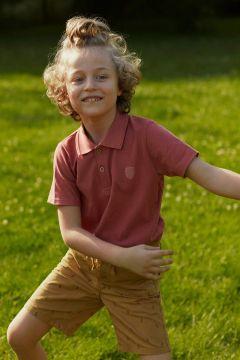 DeFacto Erkek Çocuk Yakası Çizgili Polo T-shirt(119057929)