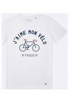T-shirt Faguo T-Shirt j\'aime mon vélo ARCY(115562801)