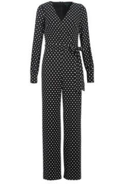 Combinaisons Lauren Ralph Lauren POLKA DOT WIDE LEG JUMPSUIT(115406804)