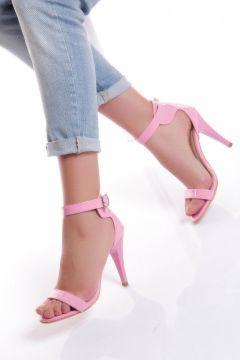 Shoes Time Pembe Kadın Topuklu Ayakkabı(114209040)
