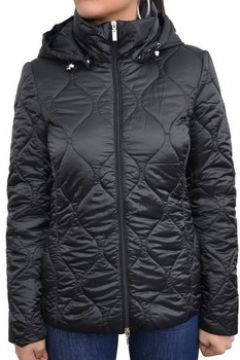 Doudounes Geox Woman Jacket Black Giubbotto Nero W7420T(115476414)