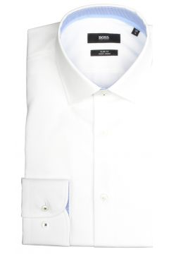 Hugo Boss Overhemd Joram wit Slim Fit 50427552/100(110997844)