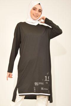 Sweat-shirt PLİSTRE Noir(119072282)