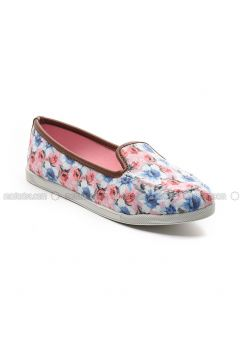 Pink - Flat - Flat Shoes - Sapin(110325798)