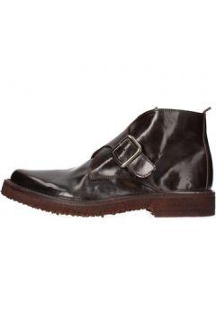 Boots Moma bottines marron cuir AF269(115467470)