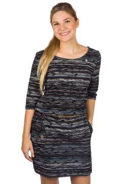 ragwear Tanya Print Dress zwart(99220065)