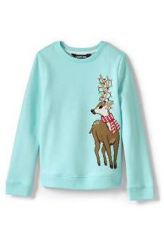 Weihnachtspullover für kleine Mädchen - Sonstige - 98/104 von Lands\' End(110474004)