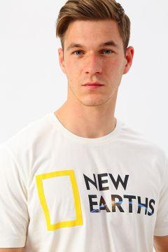 National Geographic Beyaz T-Shirt(126441861)
