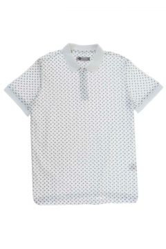 Lee Cooper Nature Beyaz Polo Yaka T-Shirt(116992304)