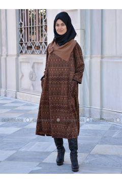 Minc - Multi - Wool Blend - Acrylic - Cardigan - Henna Elısa(110320052)