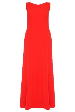 Robe Grande Taille Pour Musulmane Mileny Corail(109006996)