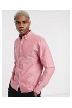 Pull&Bear - Camicia Oxford rossa-Rosso(112451090)