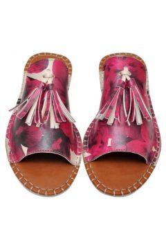 Dogo Flowers On My Shoes Kadın Dolgu Topuklu Terlik(116988069)