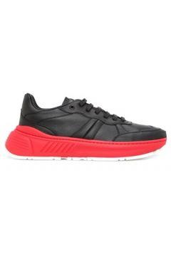 Bottega Veneta Erkek Speedster Kırmızı Siyah Deri Sneaker 40 EU(120138904)