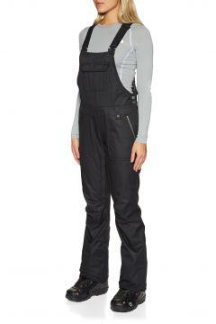 Pantalons pour Snowboard Femme 686 Black Magic Insulated Bib - Black Dobby(111320150)