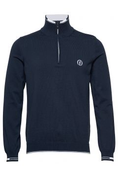 Zyrod Knitwear Half Zip Jumpers Blau BOSS(114154690)