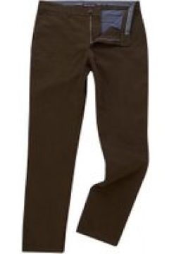 Michael Kors Slim Fit Stretch Cotton Chino - Olive(98316693)
