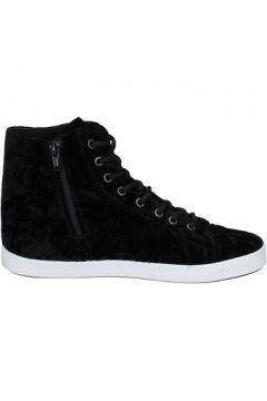 Chaussures Mancapane sneakers noir velours BX166(98483819)