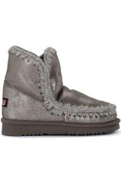 Bottes neige Mou Demi-botte modèle Eskimo 18 en peau de mouton argent(115464545)