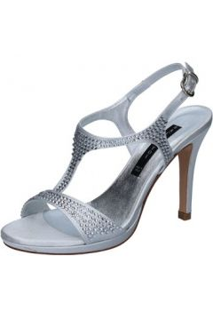 Sandales Bacta De Toi sandales argent satin strass BY94(115400886)