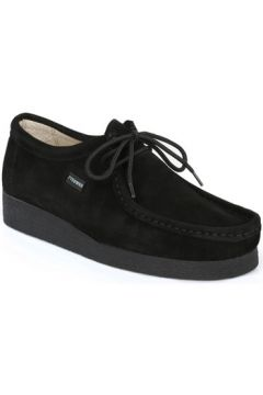 Chaussures Tower London TOWER London Black Wallabe Suede Shoes(98736869)