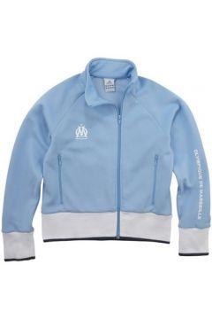 Sweat-shirt adidas Sweat zippé Original foot OM Bleu(115460403)